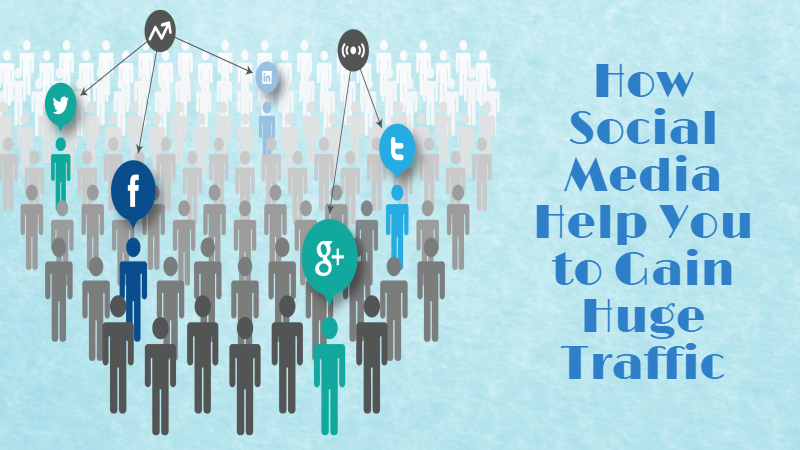 How Social Media Help You to Gain Huge Traffic