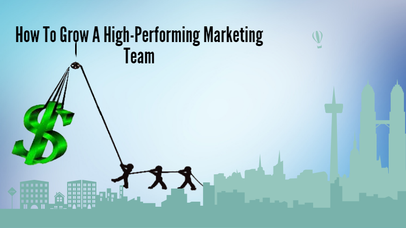 How To Grow A High-Performing Marketing Team  in 2021