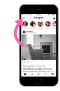 Start Instagram Stories