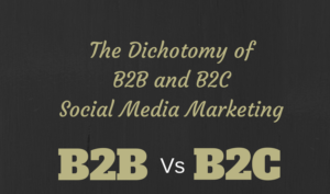 3 Aspect that Social Media Marketing Differs from B2B to B2C
