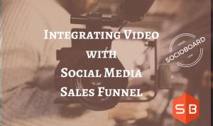 video for social media sales funnel
