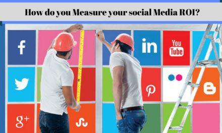 How do you Measure your social Media ROI?