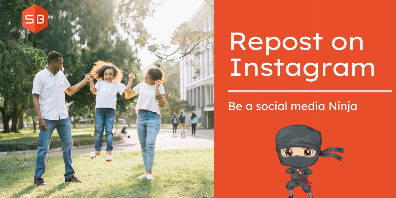 How to Repost on Instagram Like a Ninja?